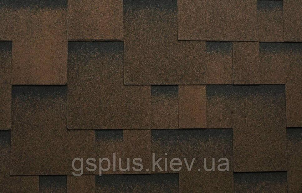 Битумная черепица рокки (Украина) квадрат