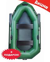 Двухместная надувная лодка Ладья ЛО-250. Гребная;
