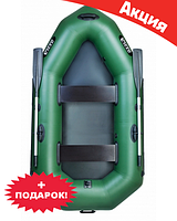 Двухместная надувная лодка Ладья ЛО-250Б. Гребная;