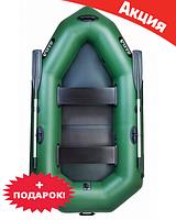 Двухместная надувная лодка Ладья ЛО-250ЕС. Гребная;