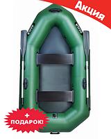 Двухместная надувная лодка Ладья ЛО-250Е. Гребная;