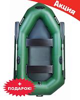 Двухместная надувная лодка Ладья ЛО-250БЕ. Гребная;