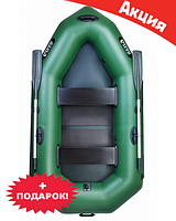 Двухместная надувная лодка Ладья ЛО-250С. Гребная;