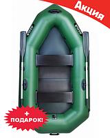 Двухместная надувная лодка Ладья ЛО-250БС. Гребная;