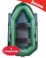Двухместная надувная лодка Ладья ЛО-250ЕСБ. Гребная;
