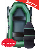Двухместная надувная лодка Ладья ЛТ-250ЕВ. Гребная;
