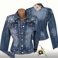 Модная женская джинсовая куртка Itaimaska с камнями