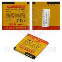 Батарея аккумуляторная Avalanche для Sony Ericsson X10 mini pro (U20) (Li-ion 3.7V 900mAh)