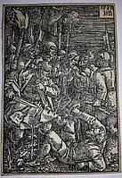 Гравюра «Предательство Иуды», автор Ганс Себальд Бехам,  16 век