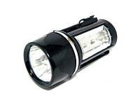 """Фонарь """"Магнит"""" 15628 (3+3 LED, аккум, магнит)"""