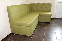 Мягкая мебель в кухню под заказ (Салатовый)