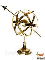 """Сфера сувениная на подставке 45 см """" гороскоп """" бронза"""