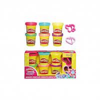 Набор пластилина Play-Doh Блестящая коллекция Hasbro A5417EU4/EU6