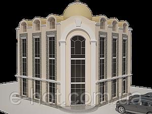 Проектирование гостиницы из пеноблоков, газоблоков