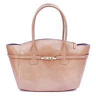Стильная сумка из итальянской кожи