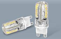 Светодиодные лампы для люстр, точечных светильников (G9, G4)
