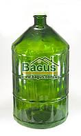 Бутыль стеклянный 22л ТО (горлышко 52) с пластиковой крышкой