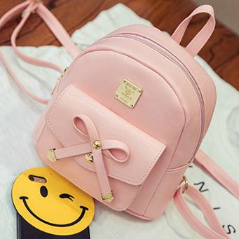 Мини-рюкзак с бантиком