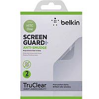 Защитная пленка Belkin для HTC One Screen Overlay ANTI-SMUDGE 2in1