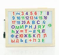 Цифры и буквы для детей магнитные дерево