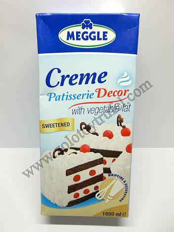 Растительные сливки «Creme Patisserie» 25% ТМ Meggle