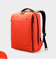 Рюкзак для ноутбука Tigernu-T-B3269 оранжевый с USB портом, фото 1