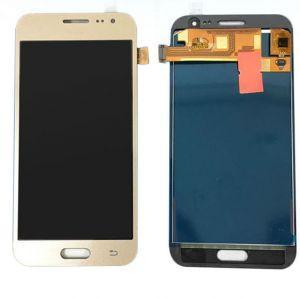 Дисплей с тачскрином Samsung J210 Galaxy J2 (2016) золотистый (HQ)