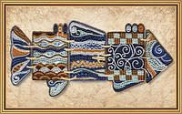 Набор для вышивания бисером Чудо-рыба
