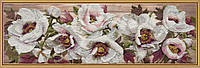 Набор для вышивания нитками на канве с фоновым рисунком Китайский пион