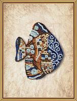 Набор для вышивания бисером Пестрая рыба