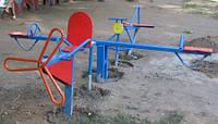 Балансир «Самолет», детская площадка, фото 1