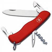 Нож Викторинокс Cowboy 111мм/5предм./красн-.нейлон