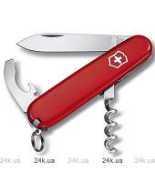 Нож Викторинокс Waiter 84мм/9предм./красн.