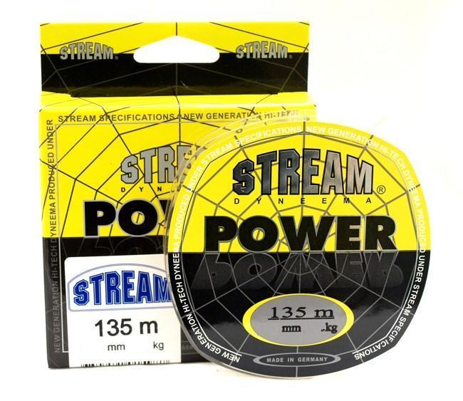 Шнур Stream Power Yellow 135m 0.16mm