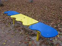 Лавочка для отдыха, детская площадка, фото 1