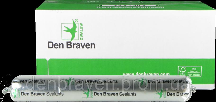 Den Braven HYBRISEAL FACADE 600мл Низкомодульный многоцелевой гибридный клей-герметик <белый>, фото 2