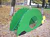 Мостик «Черепашка», детская площадка