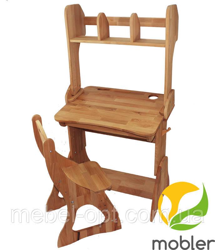 Комплект, парта, стул, надстройка (ширина 70см)