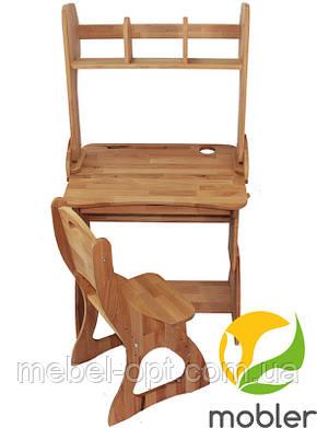 Комплект, парта, стул, надстройка (ширина 70см), фото 2