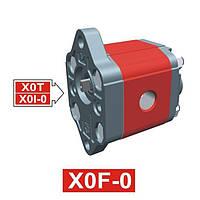 Гидронасос Vivoil XF001 - фланец ø22 (Задняя секция)