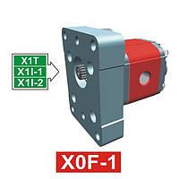 Гидронасос Vivoil XF003 - фланец ø25.4 к 1 группе (Задняя секция)