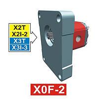 Гидронасос Vivoil XF004 - фланец ø36.5 к 2 и 3 группе (Задняя секция)