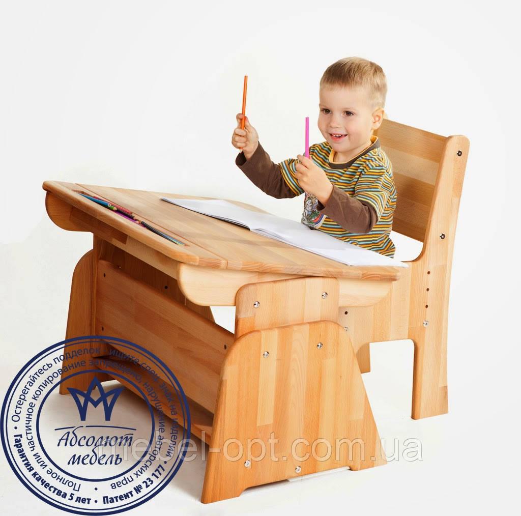Комплект: парта + стул (90см)