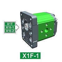 Шестеренчатый гидронасос Vivoil XF101 - фланец ø25.4 (Задняя секция)