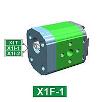 Шестеренчатый гидронасос Vivoil XF102 - фланец ø25.4 под форму корпуса (Задняя секция)