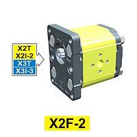 Гидравлический шестеренный насос Vivoil XF201 - фланец ø36.5 (Задняя секция)