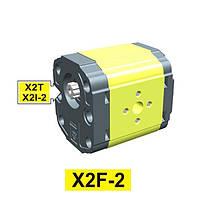 Гидравлический шестеренный насос Vivoil XF202 - фланец ø36.5 под форму корпуса (Задняя секция)
