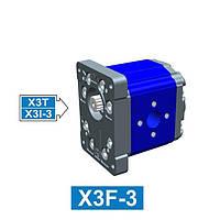 Гидронасос Vivoil XF301 - фланец ø50.8 (Задняя секция)