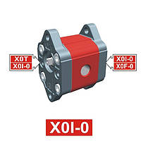 Гидронасос Vivoil XI001 - фланец ø22 (Промежуточная секция)