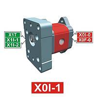 Гидронасос Vivoil XI003 - фланец ø25.4 к 1 группе (Промежуточная секция)